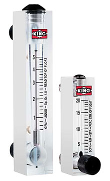 King Instrument 7520 / 7530 Series Rotameter | Rotameters / Variable Area Flow Meters | King Instrument-Flow Meters |  Supplier Saudi Arabia