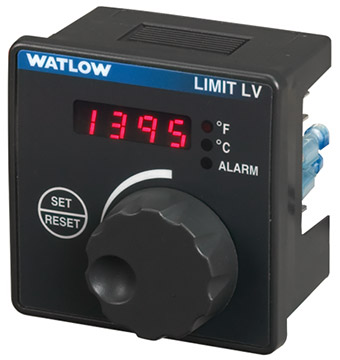 Watlow LV Series Limit Controller | Temperature Controllers | Watlow-Temperature Controllers |  Supplier Saudi Arabia