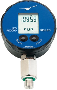 Keller LEO Record Digital Manometer | Pressure Gauges | Keller-Pressure Gauges |  Supplier Saudi Arabia