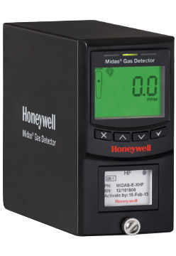 Honeywell MIDAS Gas Monitoring System | Gas Detectors | Honeywell-Gas Detectors |  Supplier Saudi Arabia