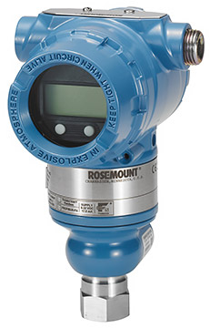 Rosemount 3051T Pressure Transmitter | Pressure Sensors / Transmitters / Transducers | Rosemount-Pressure Sensors / Transmitters / Transducers |  Supplier Saudi Arabia