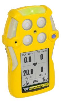 BW Technologies GasAlertQuattro Multi-Gas Detector | Gas Detectors | BW Technologies-Gas Detectors |  Supplier Saudi Arabia