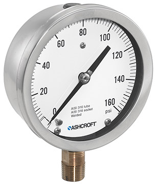 Ashcroft 1009 Analog Pressure Gauges | Pressure Gauges | Ashcroft-Pressure Gauges |  Supplier Saudi Arabia