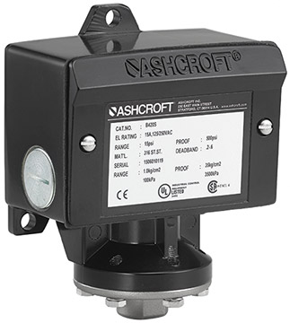 Ashcroft B Series Pressure Switch | Pressure Switches | Ashcroft-Pressure Switches |  Supplier Saudi Arabia