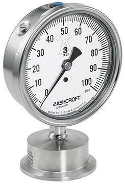 Ashcroft Type 1032 Sanitary Pressure Gauge | Pressure Gauges | Ashcroft-Pressure Gauges |  Supplier Saudi Arabia
