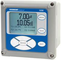 Rosemount Analytical Model 1056 Dual Input Analyzer   pH / ORP Meters   Rosemount Analytical-pH / ORP Meters    Supplier Saudi Arabia