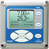 Rosemount Analytical 1066 Liquid Analytical Transmitter   pH / ORP Meters   Rosemount Analytical-pH / ORP Meters    Supplier Saudi Arabia