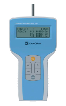 Kanomax 3887 Laser Particle Counter | Particle Counters | Kanomax-Particle Counters |  Supplier Saudi Arabia