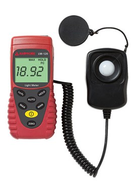 Amprobe LM-120 Light Meter with Auto-Ranging | Light Meters | Amprobe-Light Meters |  Supplier Saudi Arabia