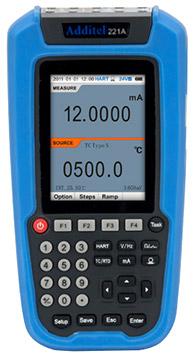 Additel ADT 221A Multifunction Temperature Calibrator | Multifunction Process Calibrators | Additel-Multifunction Process Calibrators |  Supplier Saudi Arabia