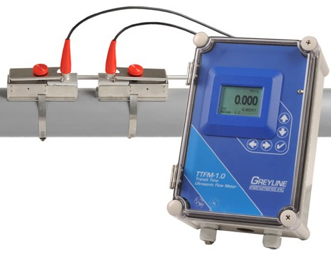 Greyline Instruments TTFM 1.0 Ultrasonic Flow Meter | Ultrasonic Flow Meters | Greyline Instruments-Flow Meters |  Supplier Saudi Arabia