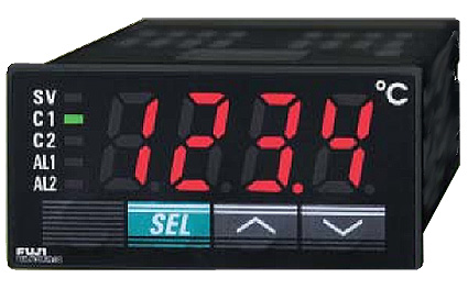 Fuji Electric PXR3 Temperature Controller | Temperature Controllers | Fuji Electric-Temperature Controllers |  Supplier Saudi Arabia