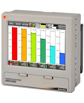 Autonics KRN1000 Paperless Recorder | Videographic / Paperless Recorders | Autonics-Recorders |  Supplier Saudi Arabia