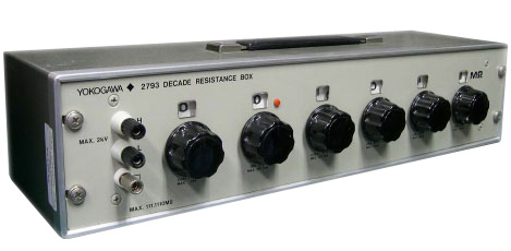 Yokogawa 2786 Decade Resistance Box | Decade Boxes | Yokogawa-Decade Boxes |  Supplier Saudi Arabia