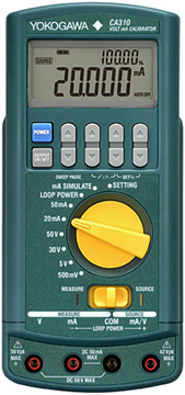 Yokogawa CA300 Series Process Calibrators | Multifunction Process Calibrators | Yokogawa-Multifunction Process Calibrators |  Supplier Saudi Arabia