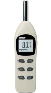 Extech 407730 Digital Sound Level Meter   Sound Level Meters   Extech-Sound Level Meters    Supplier Saudi Arabia