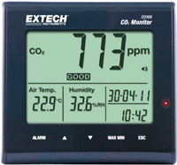 Extech CO100 CO2 Monitor   Carbon Dioxide (CO2) Detectors   Extech-Carbon Dioxide (CO2) Detectors    Supplier Saudi Arabia