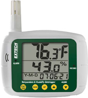 Extech 42280 Temperature and Humidity Data Logger   Data Loggers   Extech-Data Loggers    Supplier Saudi Arabia