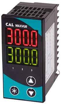 CAL Controls MAXVU08 Temperature Controller | Temperature Controllers | CAL Controls-Temperature Controllers |  Supplier Saudi Arabia