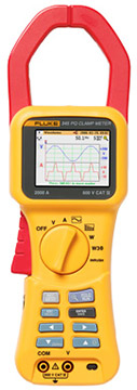 Fluke 345 Power Quality Clamp Meter   Clamp Meters   Fluke-Clamp Meters    Supplier Saudi Arabia