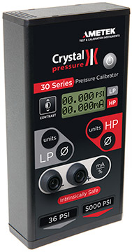 Crystal 30 Series Digital Pressure Calibrator | Pressure Multifunction Calibrators | Crystal Engineering-Pressure Calibrators |  Supplier Saudi Arabia